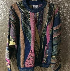 Coogi Australia Men's Classic Knit Sweater, Large
